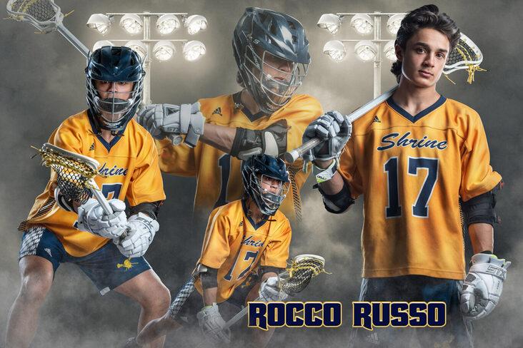 senior guy lacrosse banner